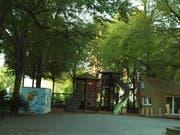 In die Jahre gekommen: Das Bleichergärtli in der Luzerner Neustadt soll aufgewertet werden. (Bild: PD/Stadt Luzern)