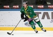 Alain Bahar hat am viertmeisten Spiele aller je für den HC Thurgau auflaufenden Spieler absolviert. (Bild: Mario Gaccioli, Weinfelden, 2. Oktober 2018)