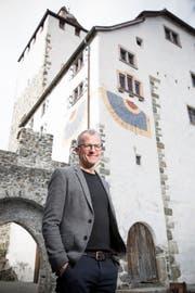 Thomas Gnägi behält den Überblick, wenn es um die Belange des Schlosses Werdenberg geht. (Bild: Mareycke Frehner)
