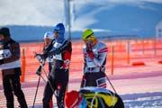 Reto Hänni (Mitte) überzeugte auch als Startläufer der Staffel. (Bild: PD)