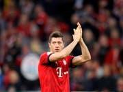 Robert Lewandowski rettete Bayern München nach der Pause (Bild: KEYSTONE/EPA/RONALD WITTEK)