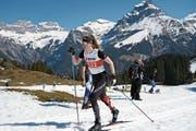 Gehört auf dem Langis zum Favoritenkreis bei den U18: das Horwer Eigengewächs Bianca Buholzer. (Bild: Oliver Koch (Engelberg, 30. März 2019))