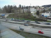 Der Unfall vom Mittwochmorgen ereignete sich auf Höhe der Autobahnausfahrt Neudorf. (Bild: FM1Today-Leserreporter)