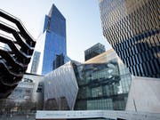 In New York wird am Freitag das Kulturzentrum «The Shed» eröffnet. Das Kulturzentrum soll eine Plattform für Kunst im 21. Jahrhundert werden. (Bild: KEYSTONE/AP/MARK LENNIHAN)