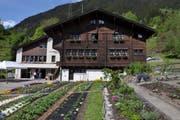 Die Bäuerinnenschule im Grosshus 1 in Gurtnellen. (Bild: PD)