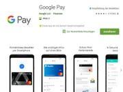 Neu können Schweizer Android-Nutzer die Google-Pay-App herunterladen. (Bild: Screenshot)