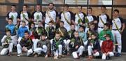 Die 26 Urner Nationalturner feierten in Bettwiesen (TG) einen Erfolg nach dem anderen. (Bild: PD)