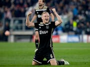 Ajax Amsterdam mit Donny van de Beek verzückt derzeit Fussball-Europa (Bild: KEYSTONE/AP/LUCA BRUNO)