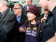Die politischen Spannungen zwischen China und Kanada nach der Verhaftung der Huawei-Finanzchefin Meng Wanzhou (im Bild) könnten durch ein chinesisches Todesurteil gegen einen kanadischen Staatsbürger neu angefacht werden. (Bild: KEYSTONE/EPA/RICH LAM)
