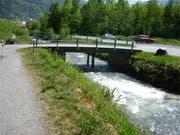 Ein Ersatzneubau soll die untere Palanggenbrücke ersetzen. (Bild: PD)