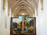 Der Isenheimer Altar von Matthias Grünewald im Museum Unterlinden in Colmar. (Bild: Keystone/imageBROKER/DANIEL SCHOENEN)