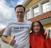 Nicklas Hedstål mit seiner Tochter Esmeralda. (Bild: PD)