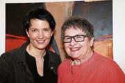 Brigitte Eigenmann – Künzle (links) und Brigitte Hollenstein – Gemperle verantworten das Projektes 2021 des Gossauer Frauennetzes. (Bild: BOS)