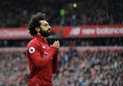 Geht Mohamed Salah und Liverpool am Schluss einer fantastischen Saison trotzdem leer aus? (Bild: Rui Vieira / AP)
