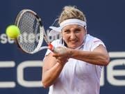 Timea Bacsinszky - im Bild während des Turniers in Lugano - steht in Rabat in der 2. Runde (Bild: KEYSTONE/TI-PRESS/ALESSANDRO CRINARI)