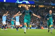 Fernando Llorente schoss Tottenham in den Halbfinal. (Bild: Jon Super / AP)