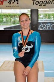 Cynthia Loser sicherte sich die Silbermedaille in der Kategorie KDamen. (Bild: PD)