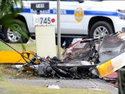 Beim Absturz eines Helikopters auf Hawaii sind am Montag drei Personen ums Leben gekommen. (Bild: KEYSTONE/AP Honolulu Star-Advertiser/BRUCE ASATO)