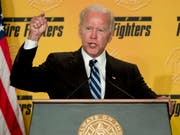 Der US-Politiker und ehemalige US-Vizepräsident Joe Biden hat sich am Mittwoch in einem Video zu Belästigungsvorwürfen geäussert. (Bild: KEYSTONE/AP/ANDREW HARNIK)