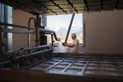 Der neue Standort der Berg-Käserei Gais ist moderner und grösser als der alte Käsereibetrieb.
