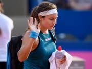 Stefanie Vögele verpasste die Viertelfinals (Bild: KEYSTONE/ANTHONY ANEX)