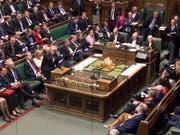Das britische Unterhaus hat in der Nacht auf Donnerstag für eine Verschiebung des Brexit gestimmt, um einen EU-Austritt ohne Abkommen zu verhindern. (Bild: KEYSTONE/EPA UK PARLIAMENT/MARK DUFFY / UK PARLIAMENT / HANDOUT)