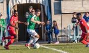 Vergangenen Samstag traf der SC Brühl auf die U21 des FC Sion. (Bild: PD - 30. März 2019)