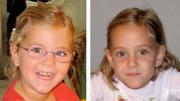 Alessia und Livia Schepp aus St. Sulpice (Schweiz) werden vermisst seit: 30.01.2011. Sie waren damals 6 Jahre alt. (Bilder: Keystone)