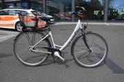 Mit diesem Velo ist die Radfahrerin gestürzt. (Bild: Kantonspolizei)