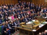 Das umstrittene Gesetz wurde in beiden britischen Parlamentskammern - im Bild das Unterhaus - angenommen. (Bild: KEYSTONE/AP PA/HOUSE OF COMMONS)