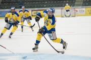 Alec Jäppinen ist einer der vielen Abgänger beim EHC Uzwil, er spielt in der nächsten Saison für den SC Herisau. (Bild: Ralph Ribi)