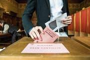 Am Sonntag wählten die Tessiner auch das Parlament neu. (Bild: Keystone)