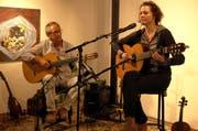 Georg Della Pietra und Annette Démarais gaben am Sonntag in Altdorf ein Konzert. (Bild: PD, 7. April 2019)