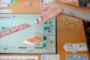 Das St.Galler Monopoly erscheint im Herbst. (Bild: Laurent Gillieron/Keystone)