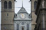 Die Hofkirche. (Bild: Dominik Wunderli, Luzern, 6. April 2019)