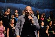 Der 47-jährige Dani Kalt ist der Leadsänger von Klangtastisch. (Bild: PD)