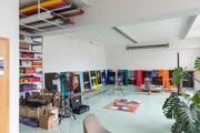 Das Atelier in Schlieren.