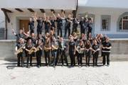 Die Jugendmusik der Seegemeinden spielt einige Platzkonzerte auf dem Weinmarkt. (Bild: PD)