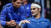 Rafael Nadal und Roger Federer fühlten sich in der Causa Kermode mehrfach übergangen. (Bild: KEYSTONE/EPA/MARTIN DIVISEK)