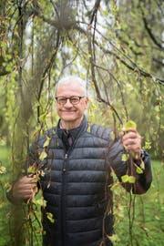 30 Jahre lang leitete Christoph Bücheler in der Stadt St.Gallen die Abteilung Stadtgrün, das frühere Gartenbauamt. (Bild: Benjamin Manser)