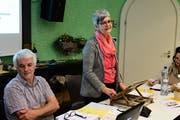 Präsidentin Ursula Fust leitet die Versammlung. (Bild: Werner Lenzin)