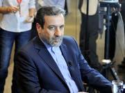 Der iranische Vizeaussenminister Abbas Araghchi ist einer der Architekten des Atomabkommens und bisher Befürworter des Deals. (Bild: KEYSTONE/APA/HANS PUNZ)