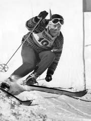 Dölf Mathis war als Skirennfahrer Weltklasse. 1962 gewann er den Lauberhorn-Slalom. (Bild: PD)