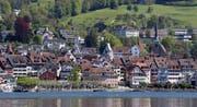 Das am meisten verdichtete Gebiet der Stadt Zug ist die Altstadt. (Bild: Stefan Kaiser, 1. Mai 2019)