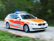 Die St. Galler Kantonspolizei musste am Mittwoch wegen eines Leichenfunds im Bodensee bei Rorschach ausrücken. (Bild: KEYSTONE/GIAN EHRENZELLER)