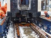 Erfolgreiche Tests in Zweisimmen: Die Pläne für eine umsteigefreie Verbindung Montreux-Interlaken haben eine wichtige Hürde genommen. (Bild: MOB / zvg)