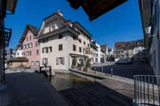Die Stadt Sursee spannt mit EWL Luzern und der Korporation Sursee zusammen. Im Bild: Der Mühlenplatz. (Bild: Eveline Beerkircher, 20. März 2019)