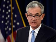 Die Währungshüter um Fed-Chef Jerome Powell beliessen den geldpolitischen Schlüsselsatz am Mittwoch in der Spanne von 2,25 bis 2,5 Prozent. (Bild: KEYSTONE/AP/SUSAN WALSH)