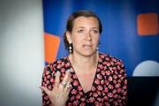 «Wir können es uns nicht leisten, weiterhin business as usual zu betreiben»: Anna Ryott, Vorsitzende des Verwaltungsrats der schwedischen Beteiligungsgesellschaft Summa Equity, am Symposium St.Gallen. (Bild: Ralph Ribi (9. Mai 2019))