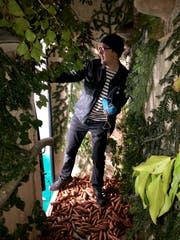 Zum Glück hat es an der TOM ein Stück Wald zur Erholung. (Bild: Timon Kobelt)